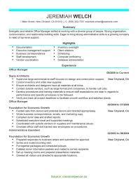 Sample Resume For Medical Office Manager 9 Healthcare Office Manager Resume Bushveld Lab