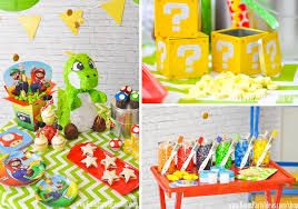 Korean Themed Party Decorations Karas Party Ideas Super Mario Bros Themed Birthday Party Planning