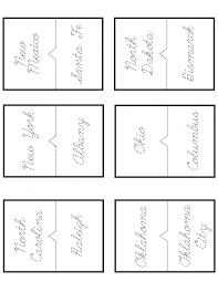 Free 50 States and Capitals Printable Workbook | Slap Dash Mom