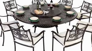 lazy susan garden furniture db with round outdoor table with lazy susan
