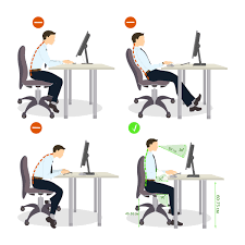 How To Sit Properly At Your Desk Work Fit
