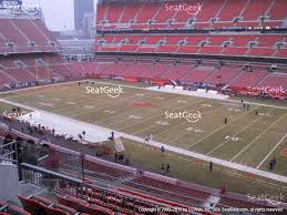 First Energy Stadium Seating Chart Browns Seating Chart View