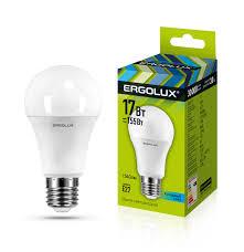<b>Ergolux</b> LED-A60-<b>17W</b>-<b>E27</b>-4K (Эл.<b>лампа</b> светодиодная ЛОН ...