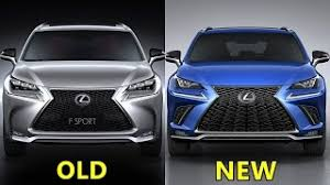 2018 lexus nx 300 f sport. plain lexus old vs new lexus nx f sport for 2018 lexus nx 300 f sport