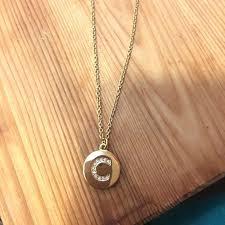 kate spade monogram necklaces initial pendant necklace c australia