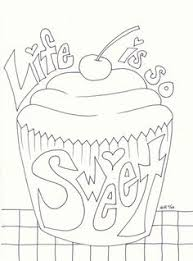 Small Picture Riscos graciosos Cute Drawings Cupcakes sorvetes e bolos