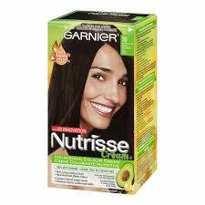 garnier nutrisse cream permanent hair colour 30 intense dark brown