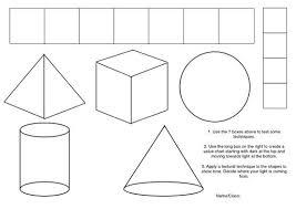 Shading Worksheets Art Worksheets Art Handouts Art