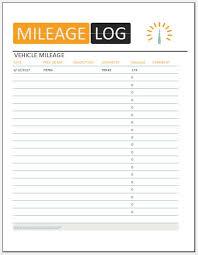 22 Printable Mileage Log Examples Pdf Examples