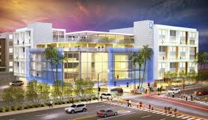 Two new luxury apartment developments, planned for Warner Center in  Woodland Hills, are making