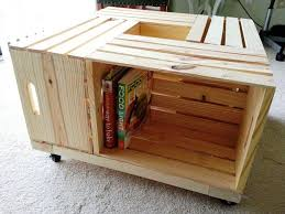 image of diy wood coffee table 1