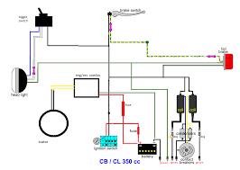 cl 350 minimal wiring diagram useful information for motorcycles cl 350 minimal wiring diagram