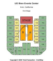 Uci Bren Events Center Tickets And Uci Bren Events Center