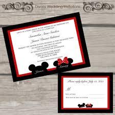 mickey and minnie wedding invitation disney wedding invitation ideas with mickey and minnie wedding invitation