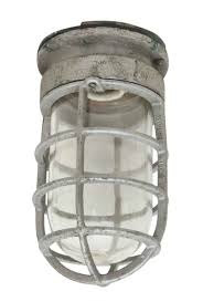 Industrial Cage Light Fixture Cast Aluminum Industrial Cage Light
