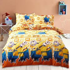 mickey mouse bedding set home textile minions bedding set cartoon mickey mouse bed linen duvet cover