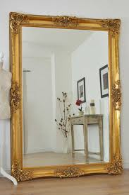 stylish large wall mirrors large gold very ornate antique design wall mirror 7ft x 5ft