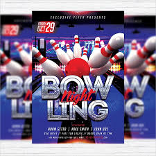 Bowling Event Flyer Template 16 Bowling Flyer Templates Psd Ai Indesign Free