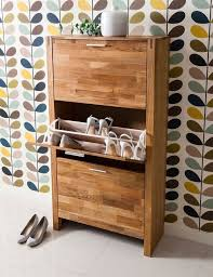 shoes furniture. Noa And Nani Vermont Solid Oak Shoe Storage Cabinet 3 Drawer | £129.99 # Shoes Furniture U