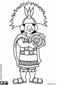 Small Picture inkas coloring pages The Inca the head of State of the Inca
