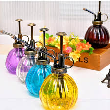Decorative Spray Bottle 100 Bottle Jewelry Zakka Vintage Decorative Watering Cans Pot 19