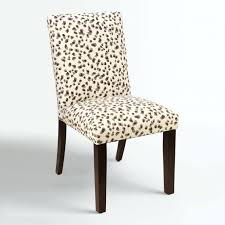 articles with leopard print dining chair covers tag glamorous with lovely high back chair covers