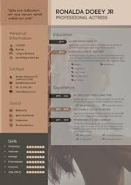 Design Haven Resume Cv Template With Portfolio A4 Portrait