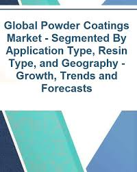 Global Powder Coatings Market Segmented By Application Type Resin Type And Geography Growth Trends And Forecasts 2017 2022