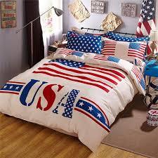 American Flag forter Queen 6342