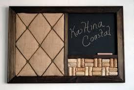 Kitchen Memo Boards Memo Board Wine Cork Chalkboard Kitchen Organizer French Ideas 36