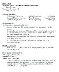 Chemical Engineer Resume Example Professional Experience Tips For ...