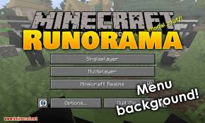 Runorama Mod For Minecraft Logo ...