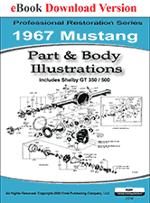 1967 mustang shop manual 1965 1972 ford car master parts and accessory catalog pdf 6000 pages thousands of part numbers and diagrams
