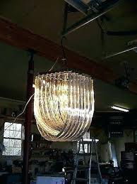 vintage lucite ribbon chandelier homes for in winchester va vintage lucite ribbon chandelier