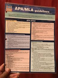 Apamla Guidelines By Inc Barcharts 2011 Book Other