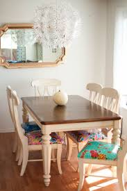 best painting fontana dining rooms mismatched chairs painted reupholster parson room chair how refinish kitchen table