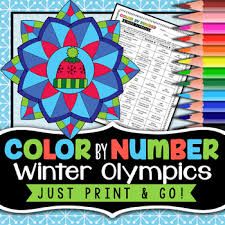 Discover these coloring pages inspired by olympic games. 2018 Winter Olympics Coloring Page Worksheets Teaching Resources Tpt