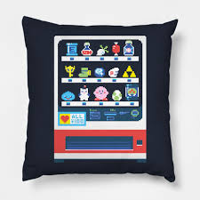 Video Vending Machine Magnificent Happy Video Game Vending Machine Pixel Pillow TeePublic