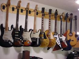 prissy inspiration hanging guitars on wall minimalist best hanger for a les paul my forum bad diy ideas plaster walls