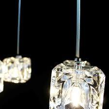 clear glass mini pendant light one