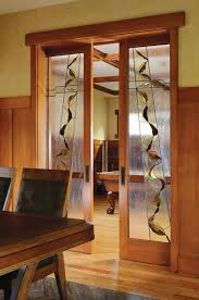 wood doors interior french doors with custom glass