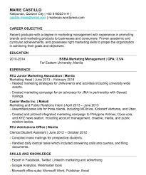 Resume For High School Student With No Work Experience Inspirational