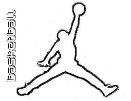 Sports Coloring Pages Logo Kids For Basketball 58 Marvelous Image