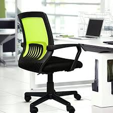 awesome green office chair. kinbor modern mesh ergonomic midback computer desk home office chair green awesome