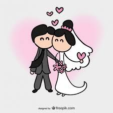 תוצאת תמונה עבור wedding cartoon