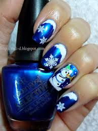 Nativity Nail Designs It S All About Nails Blue Christmas Nail Nails Nailart