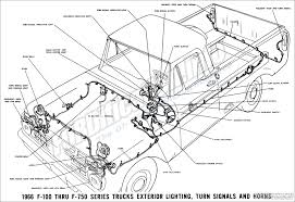 1966 exterior lighting turn signals and horns