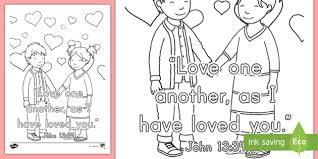 The master becomes a servant, children's study, puzzles, coloring sheet, etc. John 13 34 Preschool Page Teacher Made