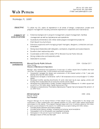 Resume Construction Projectger Objective Statement Assistant Sample