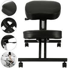 Ergonomic kneeling office chairs Unique Office Image Is Loading Ergonomickneelingchairadjustablestoolwthickseat Ebay Ergonomic Kneeling Chair Adjustable Stool W Thick Seat Handle